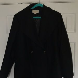 Michael Kors Plus Size Wool Coat